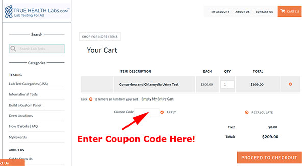True Health Labs Coupon Code