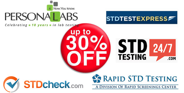 STD Testing Coupon Codes