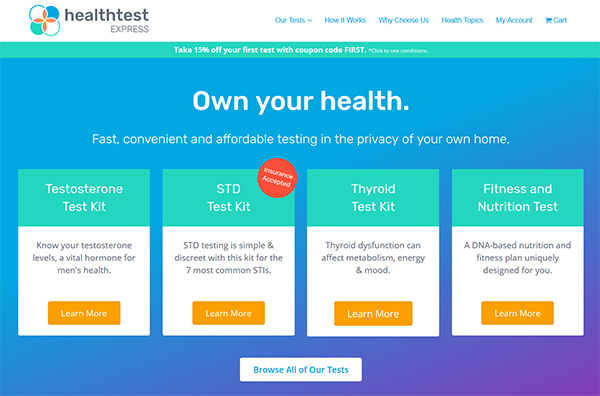 Health Test Express review