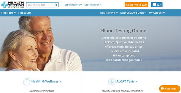 75% OFF Health Testing Centers Coupon, Promo Code & Review