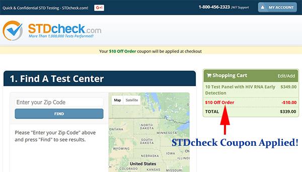 STDcheck coupon code