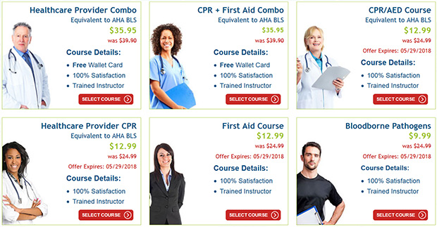 CPR AED Course Coupon