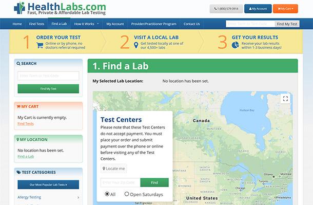 how healthlabs.com works